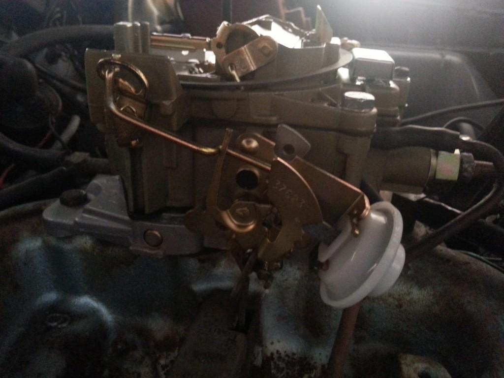1970 Pontiac Muscle Carburetor