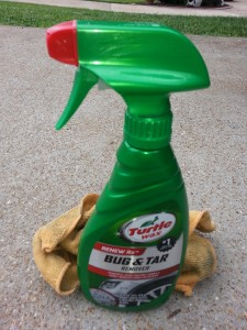 Turtle Wax bug tar