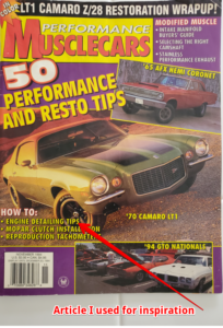 Performance Musclecars November 1994