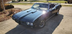 1970 Pontiac GTO Convertible-2020 front dirvers side