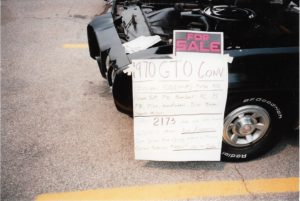 1970 Pontiac GTO Convertible-black for sale Louisville