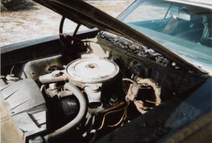 1970 Pontiac GTO Convertible-85 engine bay
