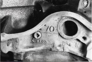 1970 Pontiac GTO Convertible-86 block date codes