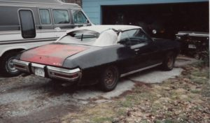 1970 Pontiac GTO Convertible-92 ready for body work and paint